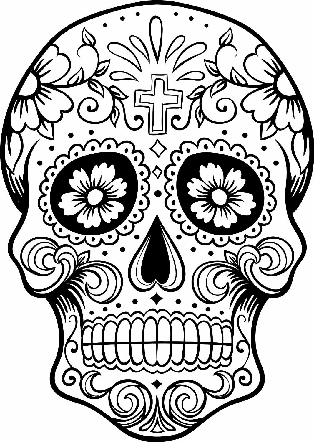 day of the dead skull mask template - dia de los muertos day of the dead news metro