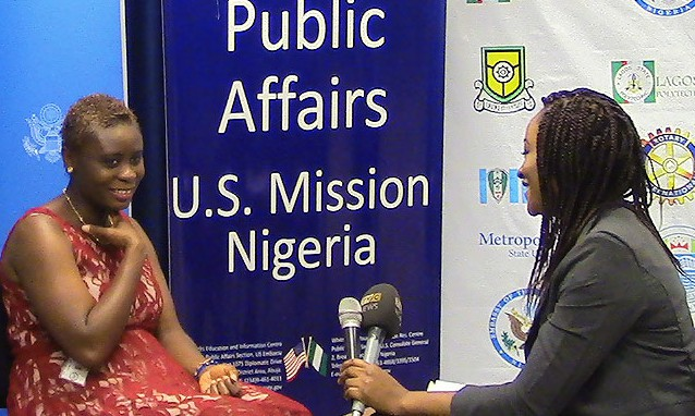 Human trafficking fighter returns from speaking campaign in Nigeria