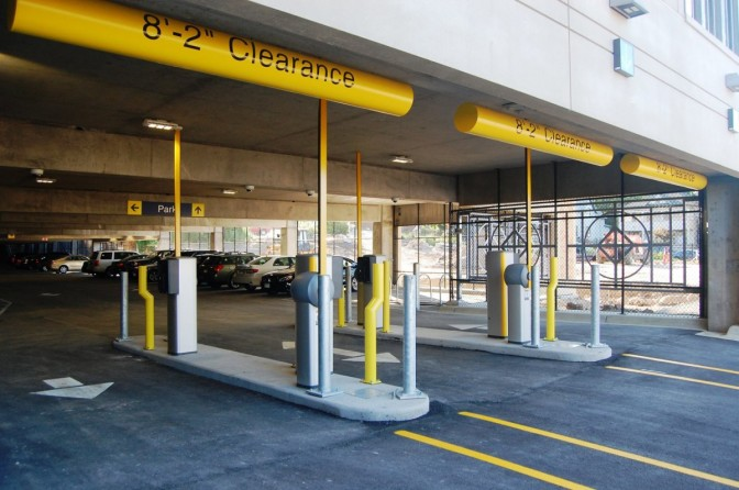 Parking garage to be locked down after hours