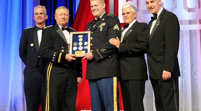 Metropolitan State student named USO National Guardsman of the Year