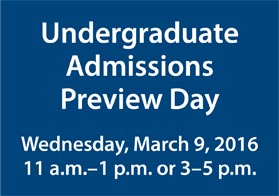Preview Day March 2016