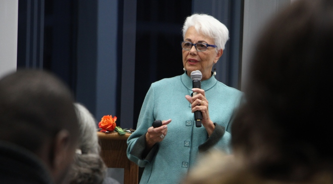 Dr. Sonia Nieto connects personal struggles to teaching