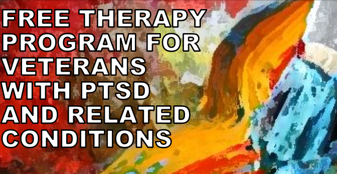 Art therapy program for veterans with PTSD and related conditions