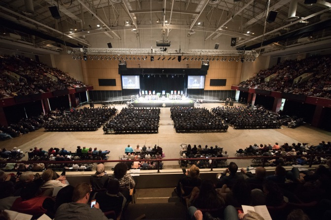 May 1: Metropolitan State spring commencement