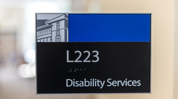 Take the Disability Services survey