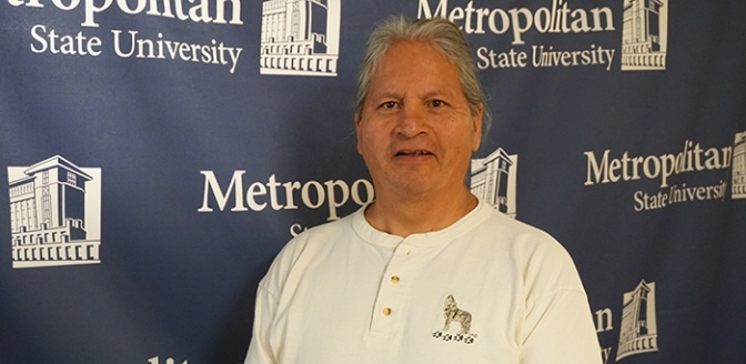 David Isham is Metropolitan State's new admissions counselor and American Indian liaison