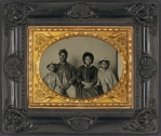 Changing America: Family portrait. Image courtesy of Library of Congress.
