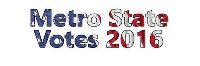 Oct. 19: Metro State Votes Presidential Debate Viewing Party