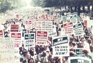 Changing America: We March, We Demand. Image courtesy of Library of Congress