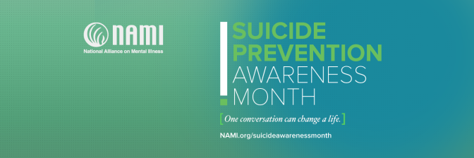 September is National Suicide Prevention Month