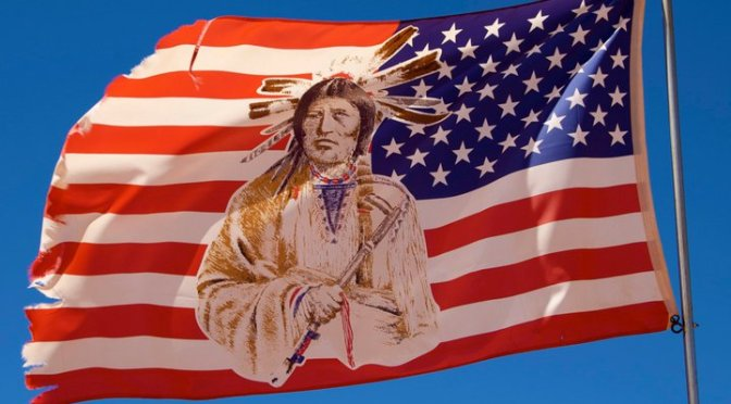 11 nations and flags of Minnesota Native Americans
