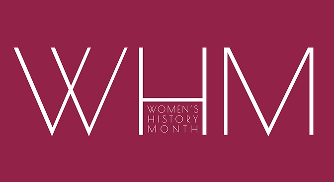 March 2017: Women's History Month Events