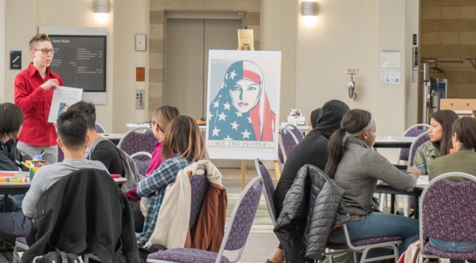Women's History Month Event: Art activism exhibition