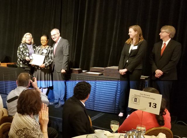 Birtukan Abebe honored with nomination for Minnesota State Board of Trustees Professional Excellence in Service Award