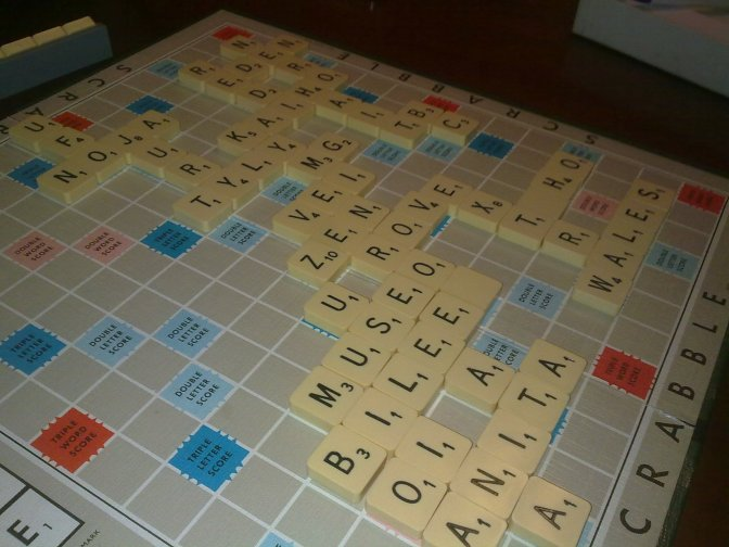 Oct. 4-Nov. 1: Scrabble for Scholarships Tournament