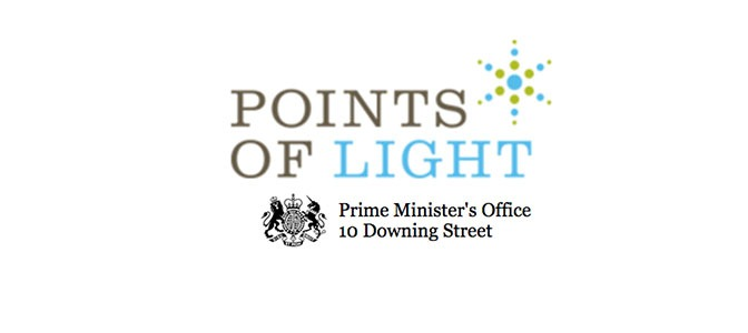 Prof. James Densley recognized with UK Prime Minister's Points of Light Award