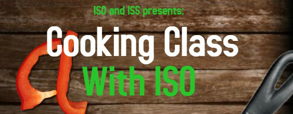 April 20: Cooking Class with ISO
