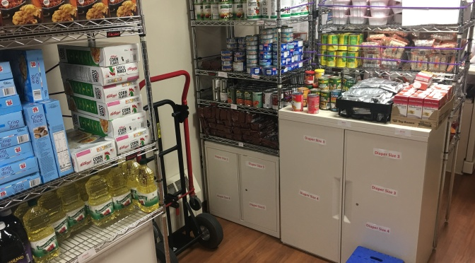 Relocated Food for Thought, Student Parent Center now open