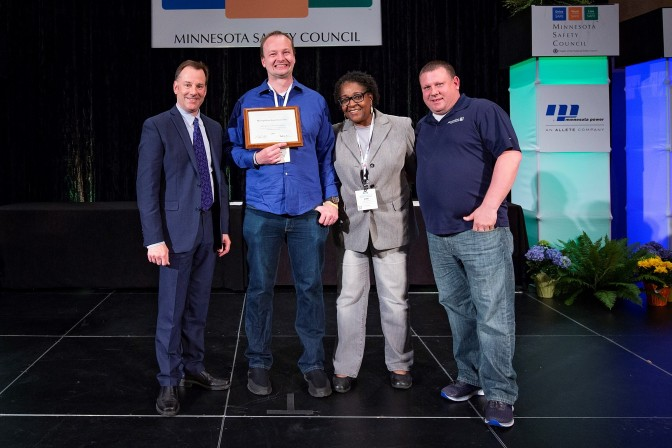 Metropolitan State University presented with Governor's Safety Award