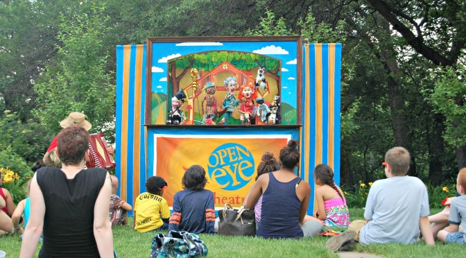 June 26: Fourth Annual Community Puppet Palooza